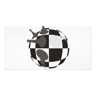 Checkmate Photo Greeting Card