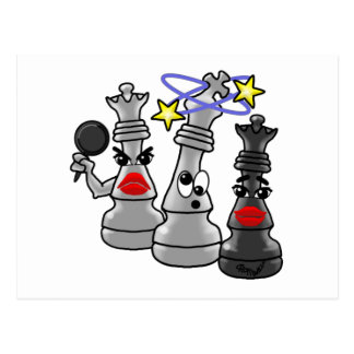 Checkmate Postcard