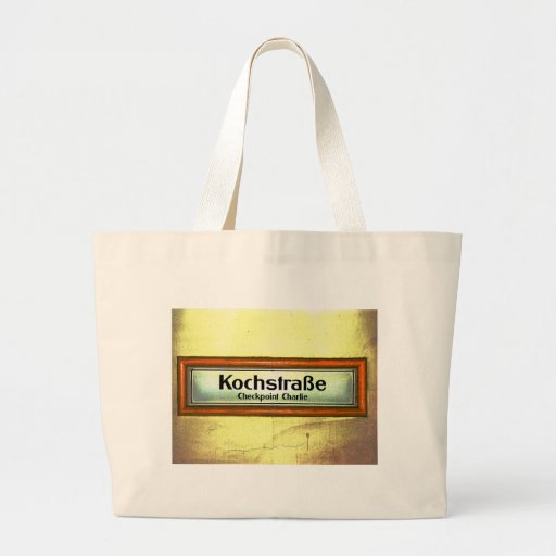 Checkpoint Charlie, Kochstrabe, Yellow and Orange Bag