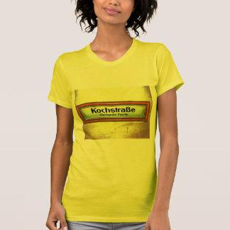 Checkpoint Charlie, Kochstrabe, Yellow and Orange Tshirt