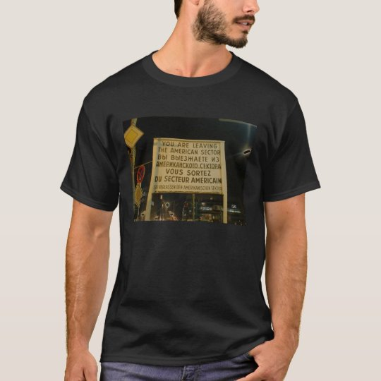 Checkpoint Charlie T-Shirt
