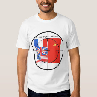 Checkpoint Charlie Target Tshirts