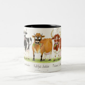 'Cheddar' Mug. Two-Tone Coffee Mug