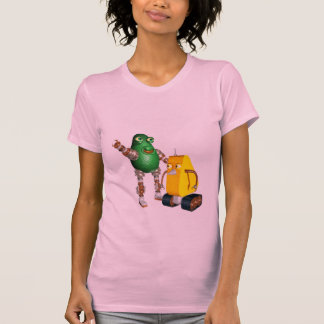 CheddarCheeseBot AvocadoBot T-Shirt