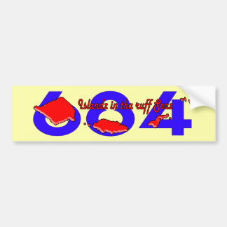 CHEE HOO 684 BUMPER STICKER