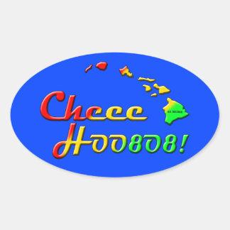 CHEE HOO 808 OVAL STICKER