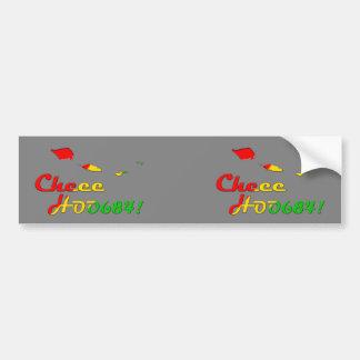CHEE HOO BUMPER STICKER