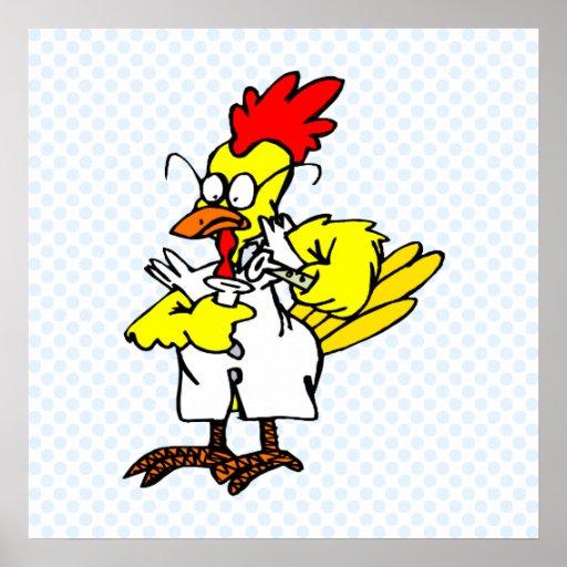 Cheech Chicken Print