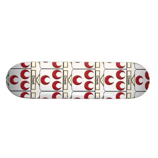 Cheek Family Crest Skateboard