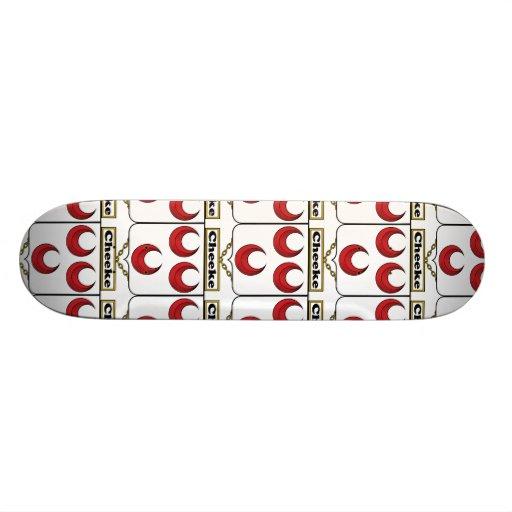 Cheeke Family Crest Skate Board Deck