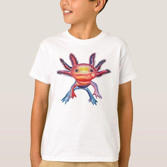 Cheeky Axolotl design T-shirt