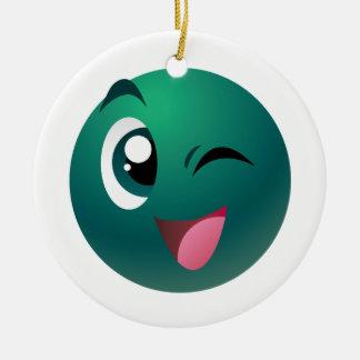Cheeky Ball Christmas Ornament