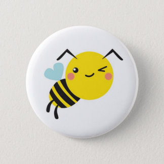 cheeky  bee button