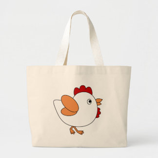 Cheeky Chicken Large Tote Bag