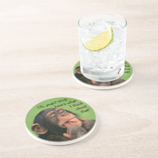 Cheeky Chimp Coaster