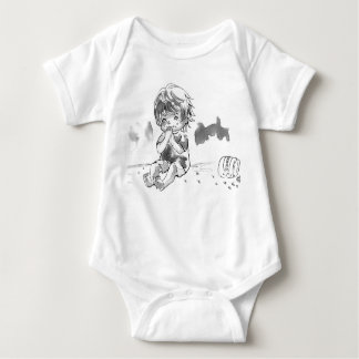 Cheeky Cookie Eater Baby Bodysuit