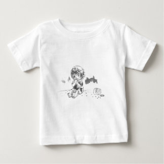 Cheeky Cookie Eater Baby T-Shirt