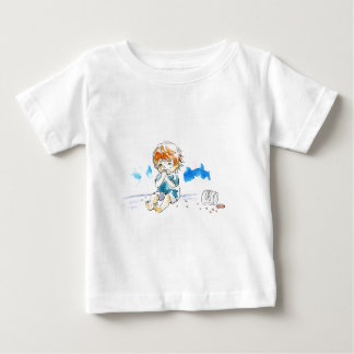 Cheeky Cookie Eater Colour Baby T-Shirt
