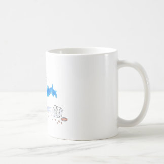 Cheeky Cookie Eater Colour Coffee Mug