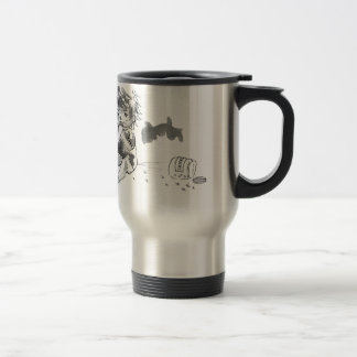 Cheeky Cookie Eater Travel Mug