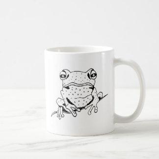 Cheeky Frog Coffee Mug