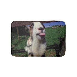 Cheeky Goat small bathmat Bath Mats