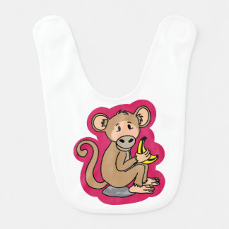Cheeky Monkey Bib