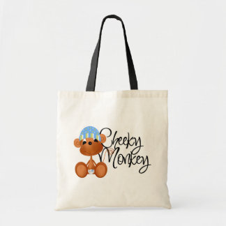 Cheeky Monkey - Boy Tshirts and Gifts Budget Tote Bag