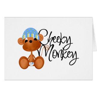 Cheeky Monkey - Boy Tshirts and Gifts Card