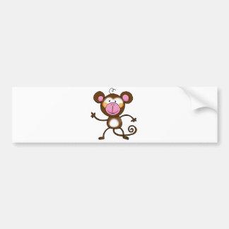 Cheeky monkey bumper stickers