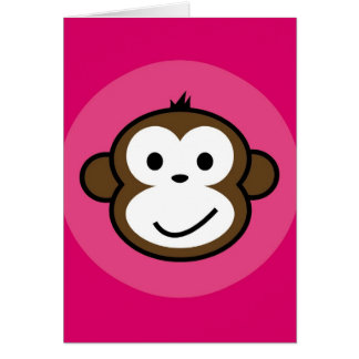Cheeky Monkey Card