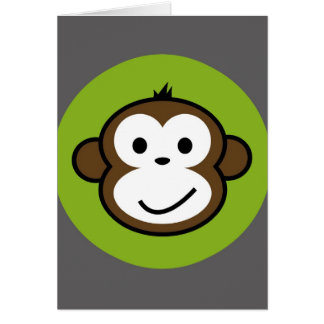 Cheeky Monkey Card