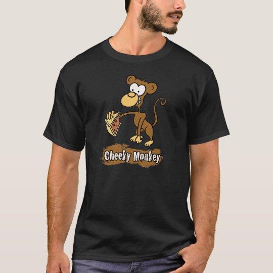 Cheeky Monkey Cartoon Design T-Shirt