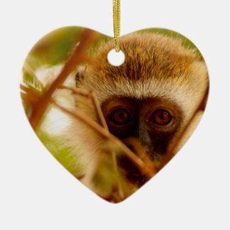 Cheeky Monkey. Christmas Ornament