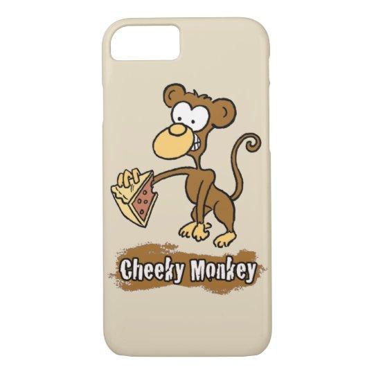 Cheeky Monkey Design has Monkey Enjoying Cake iPhone