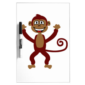 Cheeky Monkey Dry Erase Board