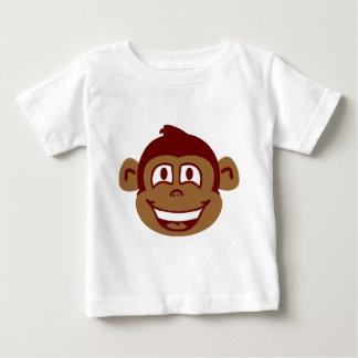 Cheeky Monkey Face Baby T-Shirt