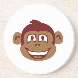 Cheeky Monkey Face Coaster