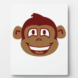 Cheeky Monkey Face Plaque