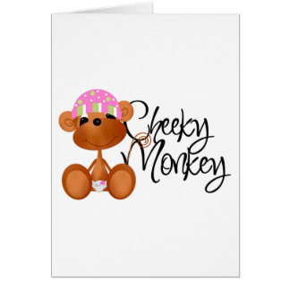 Cheeky Monkey - Girl Tshirts and Gifts Cards
