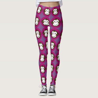 cheeky monkey leggings