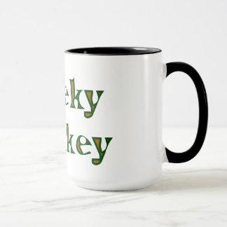 cheeky monkey mug