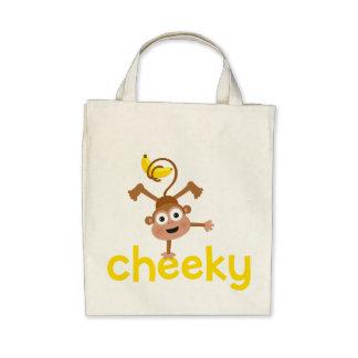 Cheeky Monkey Tote Bag