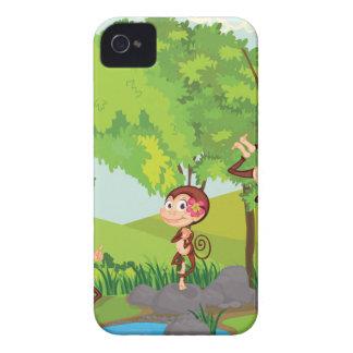 Cheeky monkeys iPhone 4 cover
