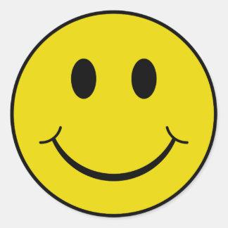Cheeky Smiley Sticker