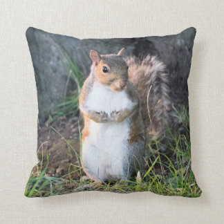 Cheeky Squirrel Designer Cushion