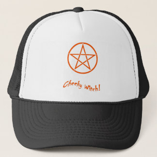 Cheeky Witch Star Collection (Orange) Trucker Hat