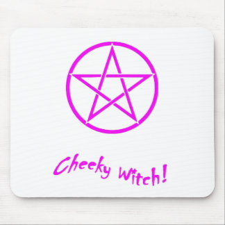 Cheeky Witch Star Collection (Pink) Mouse Mat