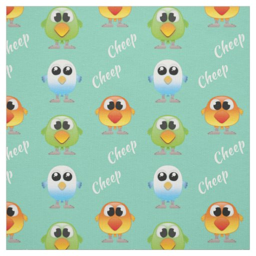 Cheep Cheep Birds for little kids Fabric