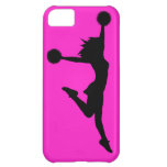 Cheer 1 iPhone 5 Case Black on Pink